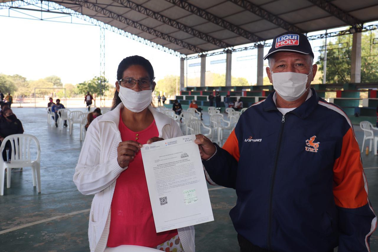 Familias de Mcal Estigarriba reciben subsidios para vivienda propia.